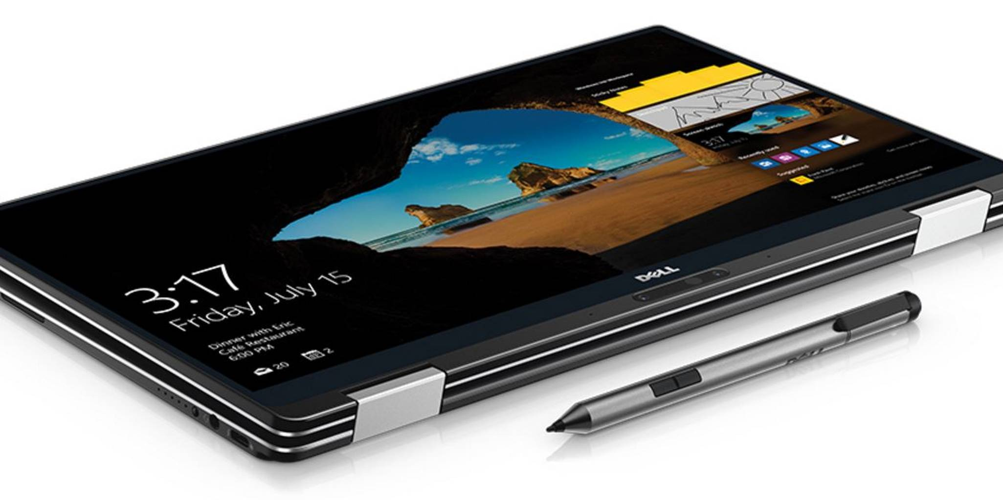Dell XPS 13 2-in 1 laptop With Stylus Pen Accessory