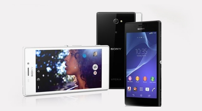 Sony has introduced Xperia M2 Aqu that is a dirt and water ...