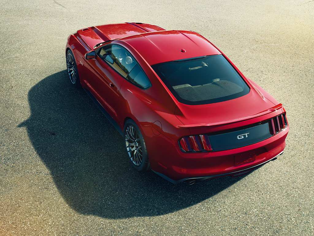 ford mustang top view. ford mustang top view a
