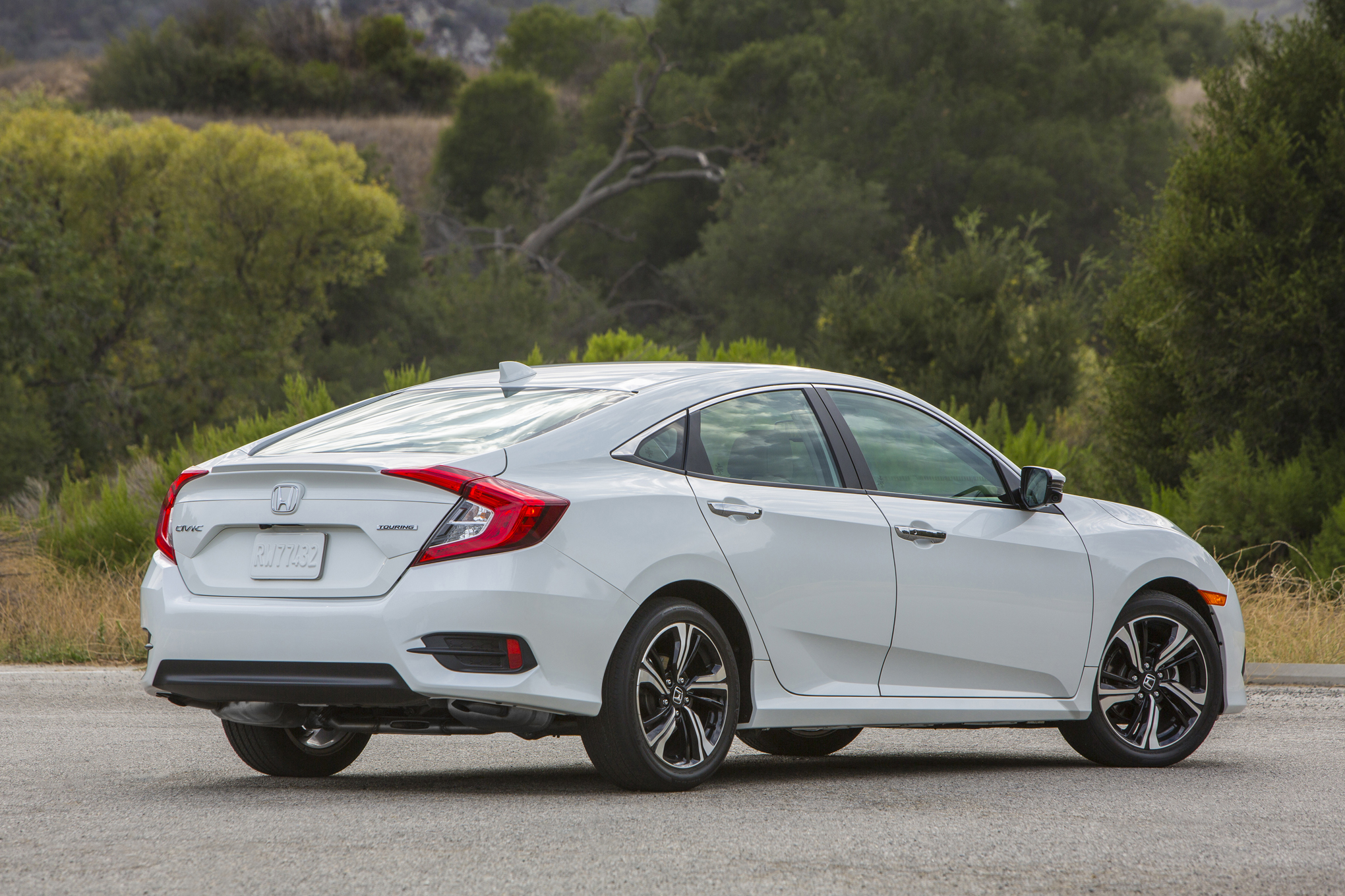 2016 Honda Civic Rear Profile