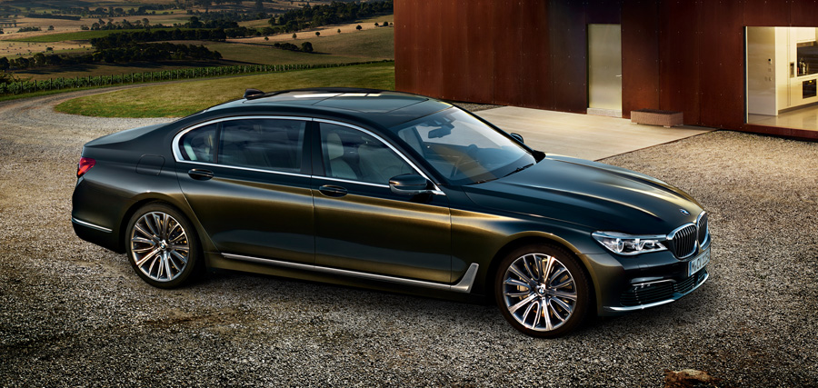 BMW 7 Series Previewed At 2015 Frankfurt Auto Show