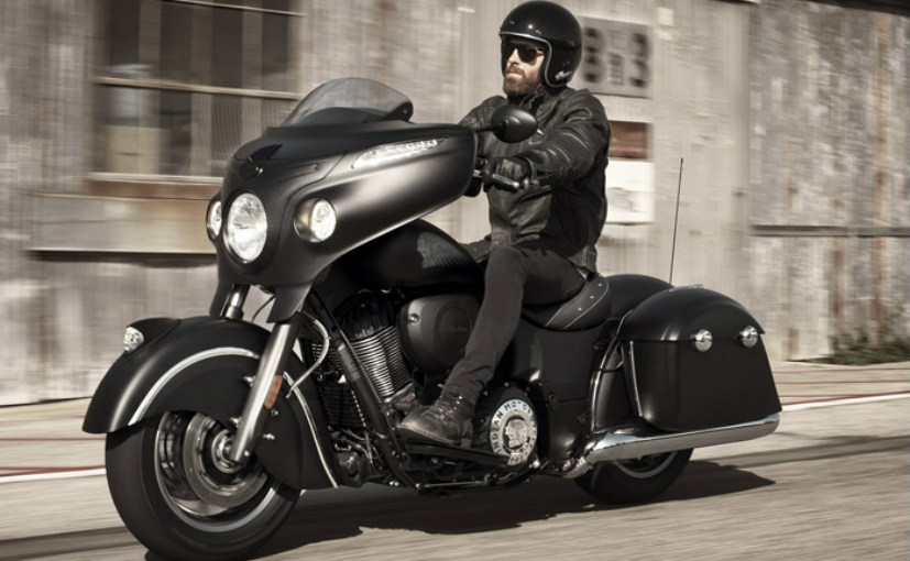 indian chieftain dark horse unveiled in india priced at rs lakhs. Black Bedroom Furniture Sets. Home Design Ideas