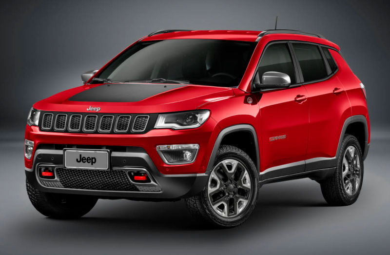 2017 Jeep Compass Front Side Profile