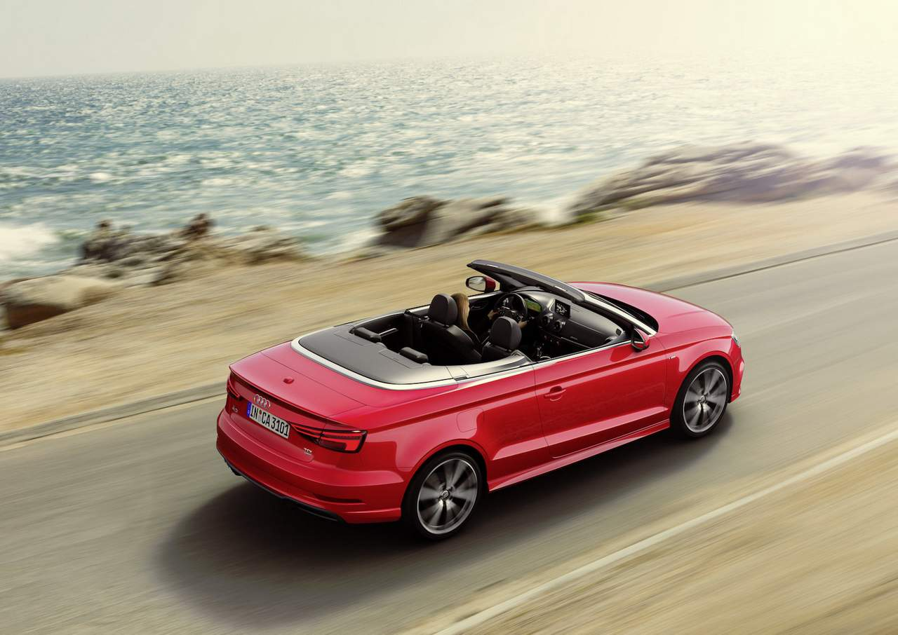 2017 audi a3 cabriolet facelift launched in india priced at inr lakh. Black Bedroom Furniture Sets. Home Design Ideas