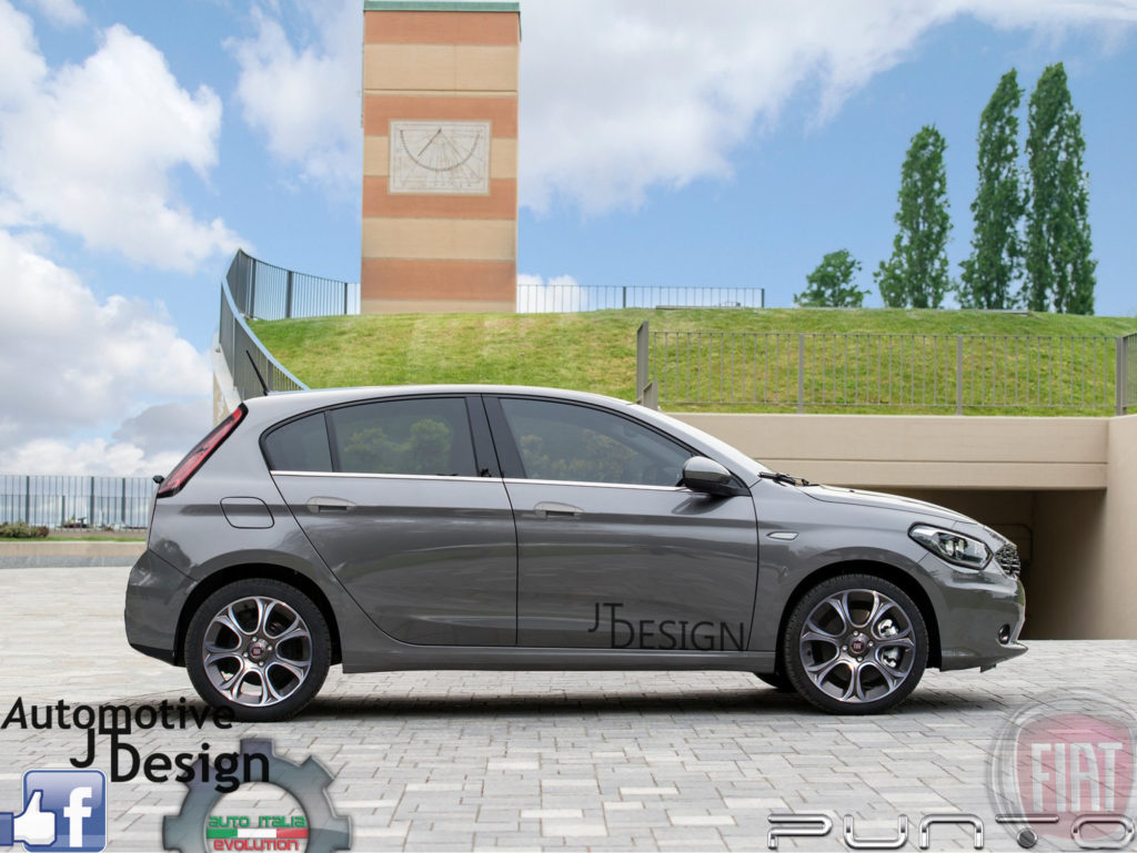 2017 Fiat Punto Surfaced Online With Rendered Images