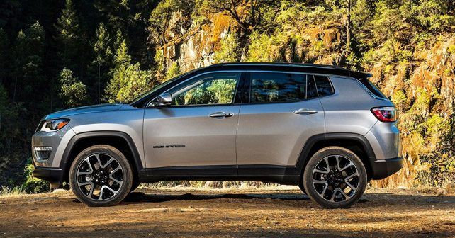 2017 Jeep Compass side view