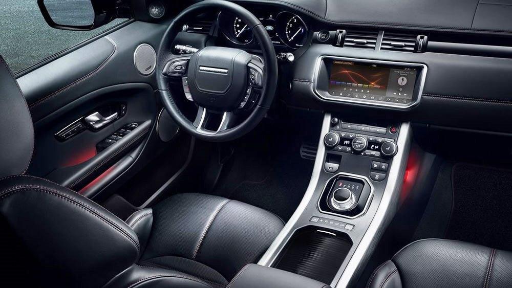 red range rover evoque car interior design. Black Bedroom Furniture Sets. Home Design Ideas