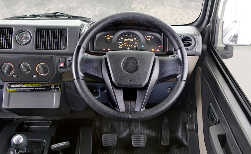 2017 Force Gurkha Interior