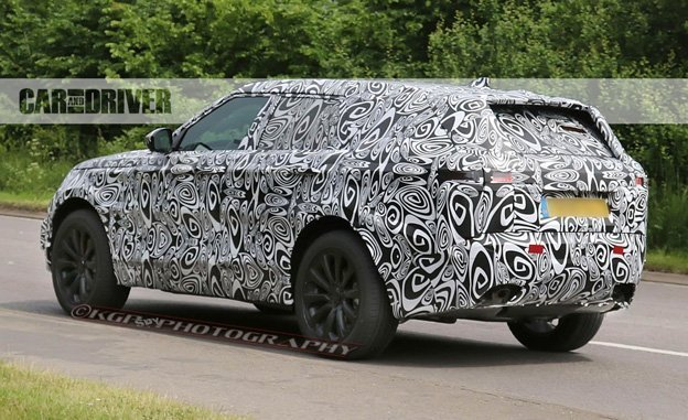 2018 land rover range rover sport coupe spied. Black Bedroom Furniture Sets. Home Design Ideas
