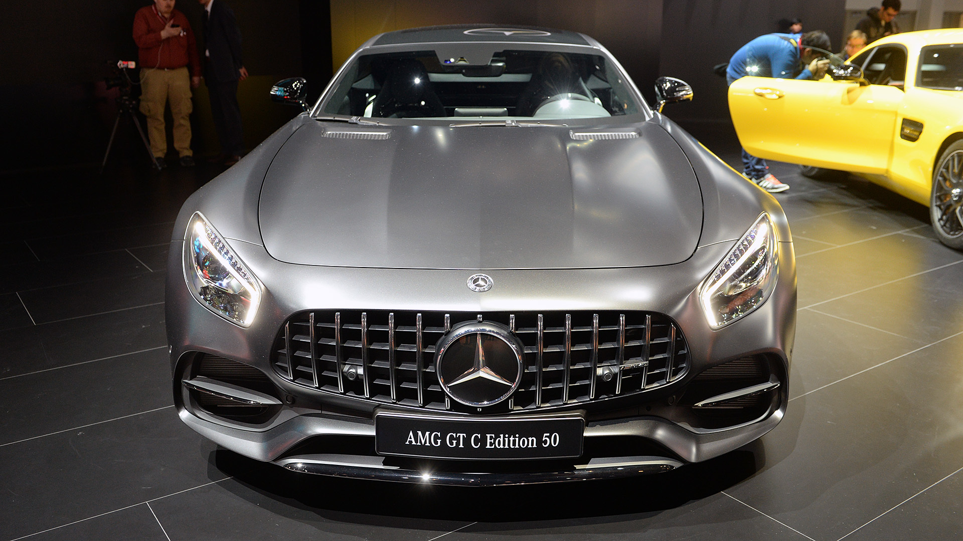 Mercedes-AMG GT C Coupe at Front