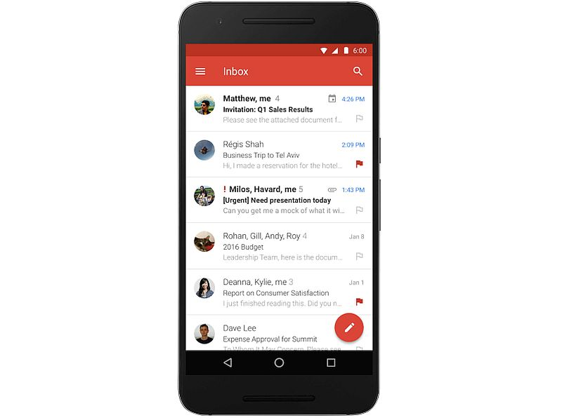 Gmail for Android Now Supports Microsoft Exchange Service
