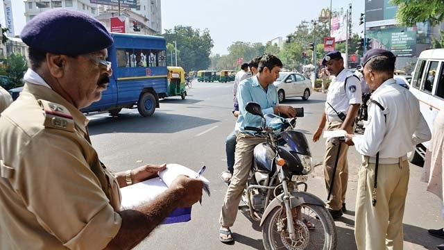 Huge fines for traffic rules violation