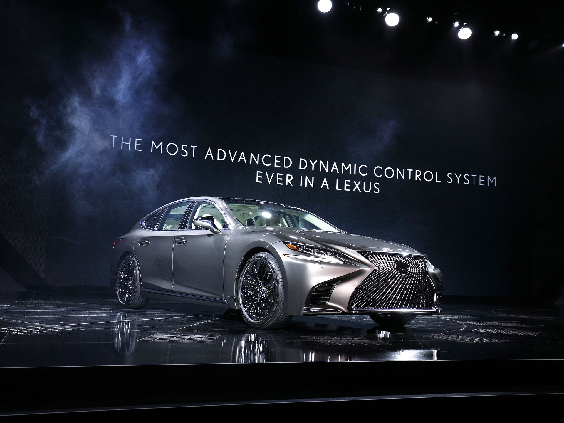 Lexus LS500 Sedan at 2017 NAIAS