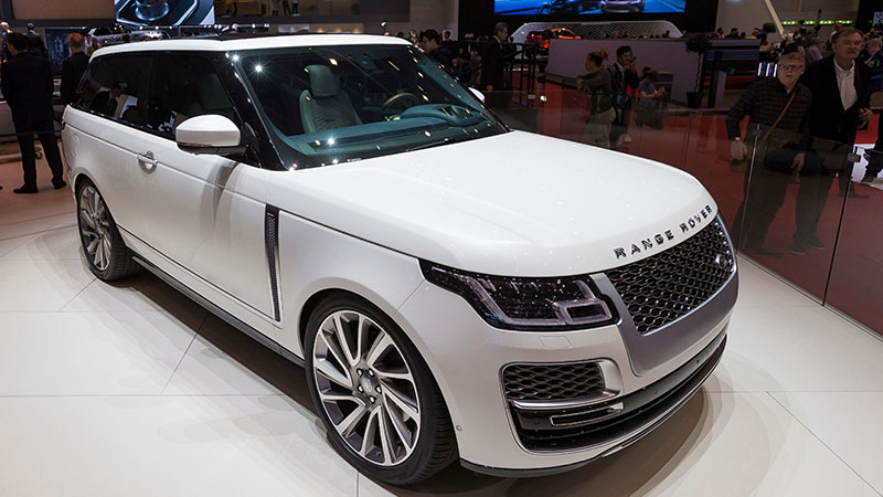 Range Rover SV Coupe Limited-Edition