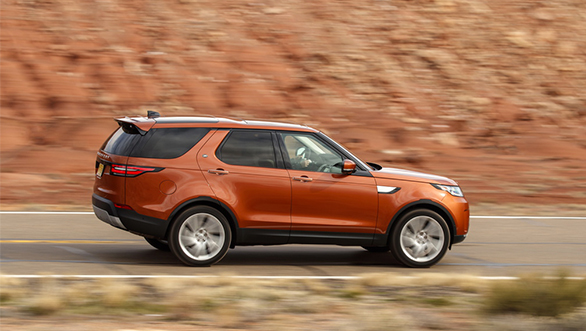 All new Land Rover Discovery side profile