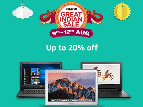 Amazon Great Indian Sale discounts