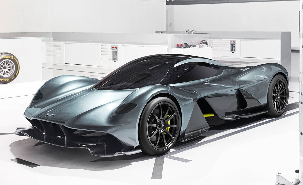Aston-Martin & Red Bull AM-RB 001 HyperCar Front side Profile