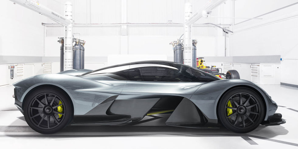 Aston-Martin & Red Bull AM-RB 001 HyperCar Side Profile