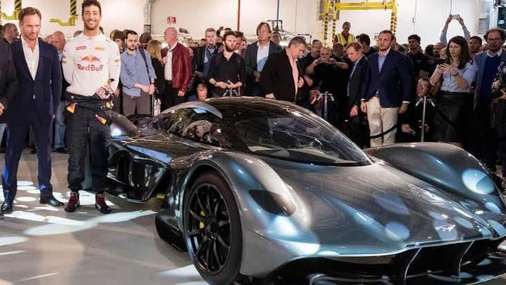 Aston-Martin & Red Bull teamed up for HyperCar Project AM-RB 001