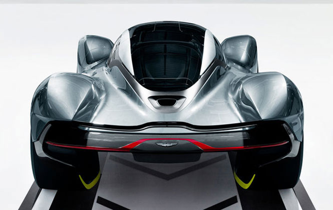 Aston Martin AM-RB 001 at rear