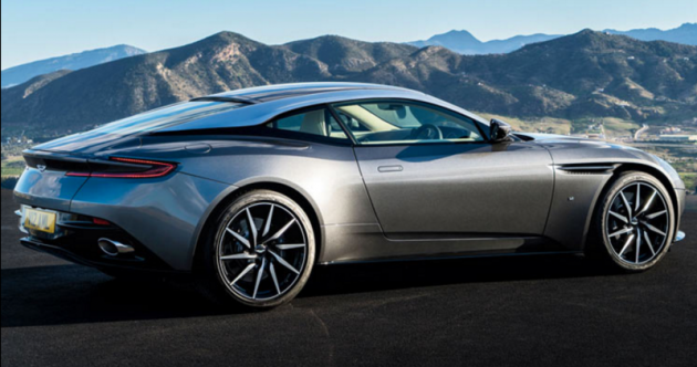 Aston Martin DB11 official pictures revealed