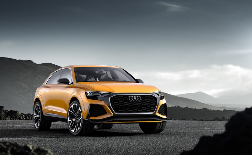Audi Q8 Sports SUV Concept Displayed at Geneva Motor Show