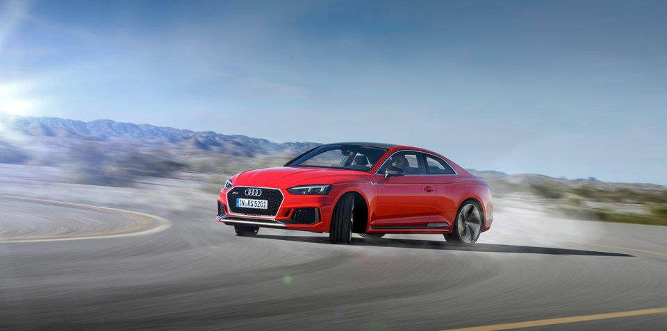Audi RS 5 Coupe unveiled at Geneva Motor Show 2017
