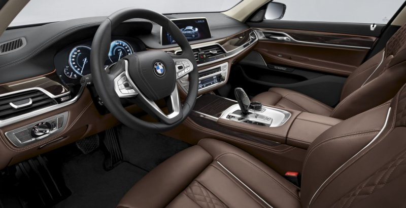 BMW 740e iPerformance Interiors