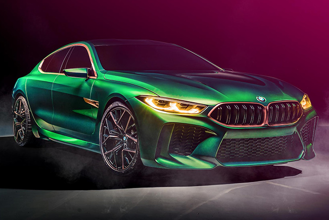 BMW M8 Gran Coupe's
