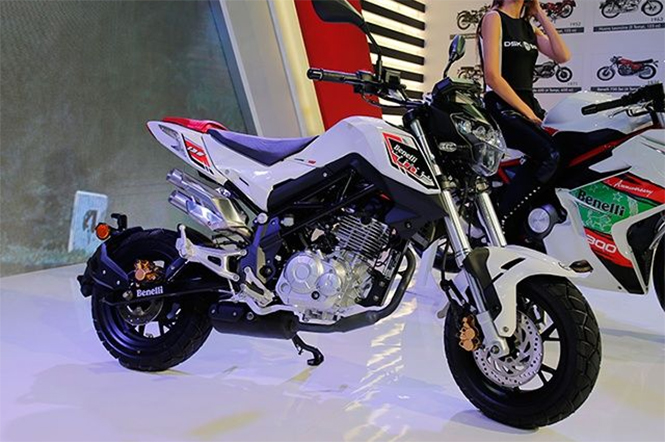 Benelli TNT 135 Mini Street Fighter Previewed