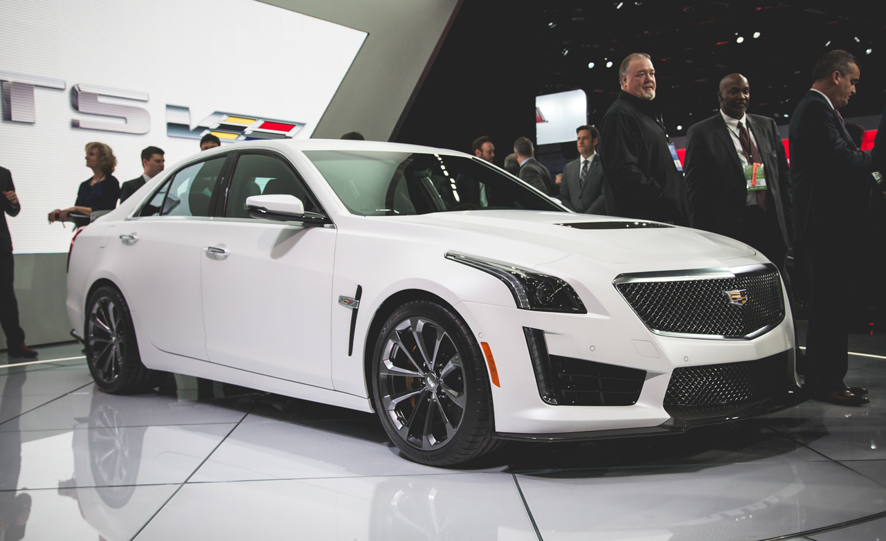 cadillac at geneva show with cts v and ats v. Black Bedroom Furniture Sets. Home Design Ideas