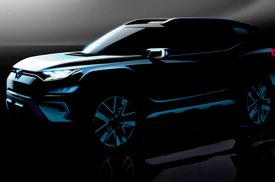 Concept SsangYong XAVL SUV Front Side Profile