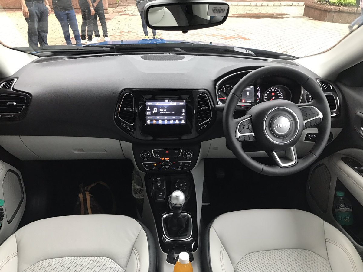 New Jeep Compass Interior