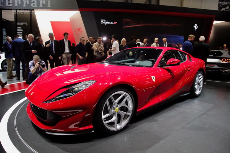 Ferrari 812 Superfast Front Profile