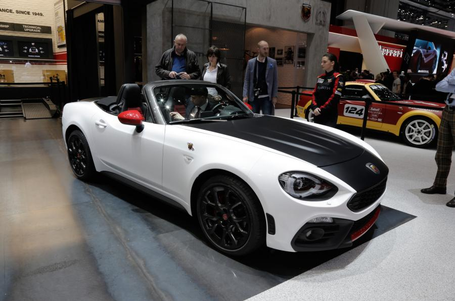 performance version of Fiat abarth 124 spider