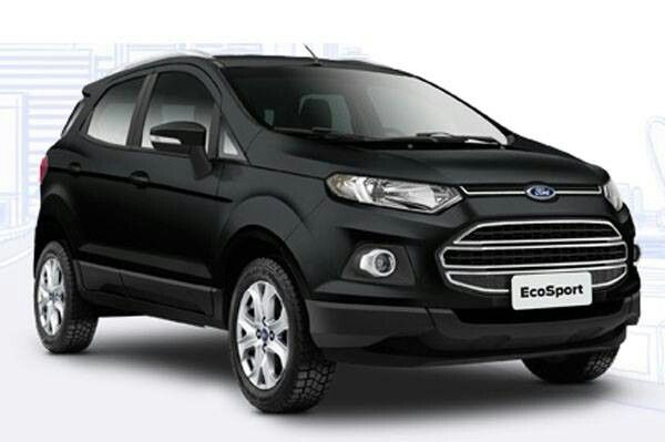 ford ecosport black edition launched in india at inr lakhs. Black Bedroom Furniture Sets. Home Design Ideas