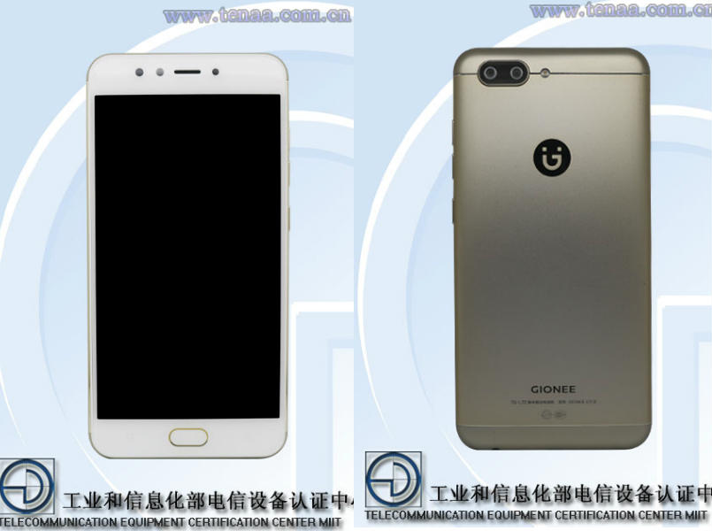 Gionee S10 Renders and Specifications Show Up on TENAA