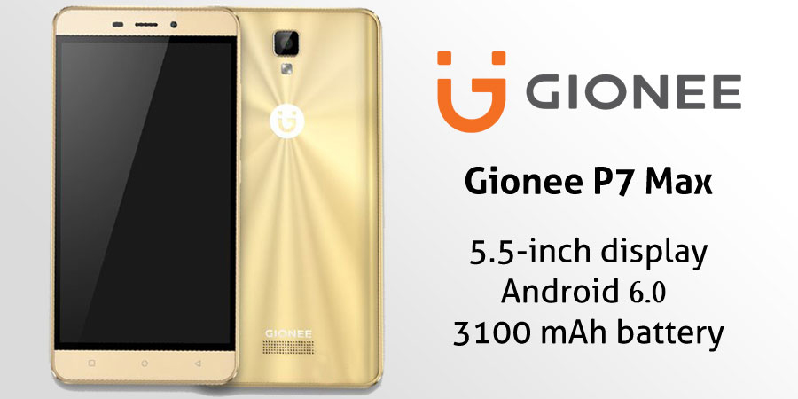 Gionee P7 Max With Smart Gesture And Mobile Anti-theft