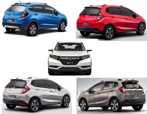 Honda WRV Colours