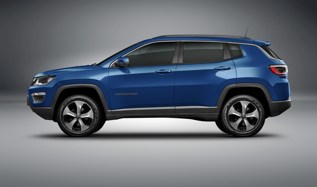 Jeep Compass mid-size SUV at side
