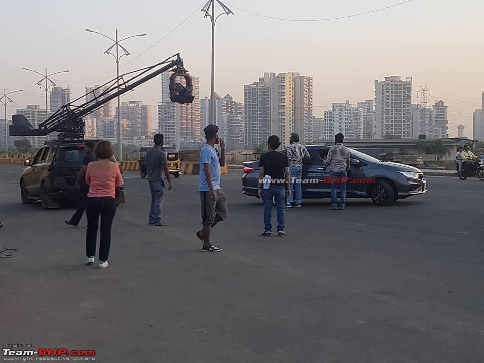 2017 Honda City Facelift Spotted in India While Ad-Shoot