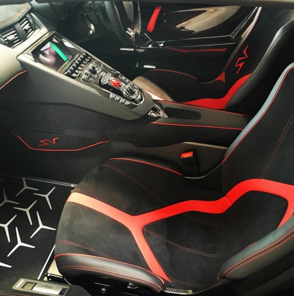 Lamborghini Aventador Interior: India Welcomes First Lamborghini Aventador SV Roadster