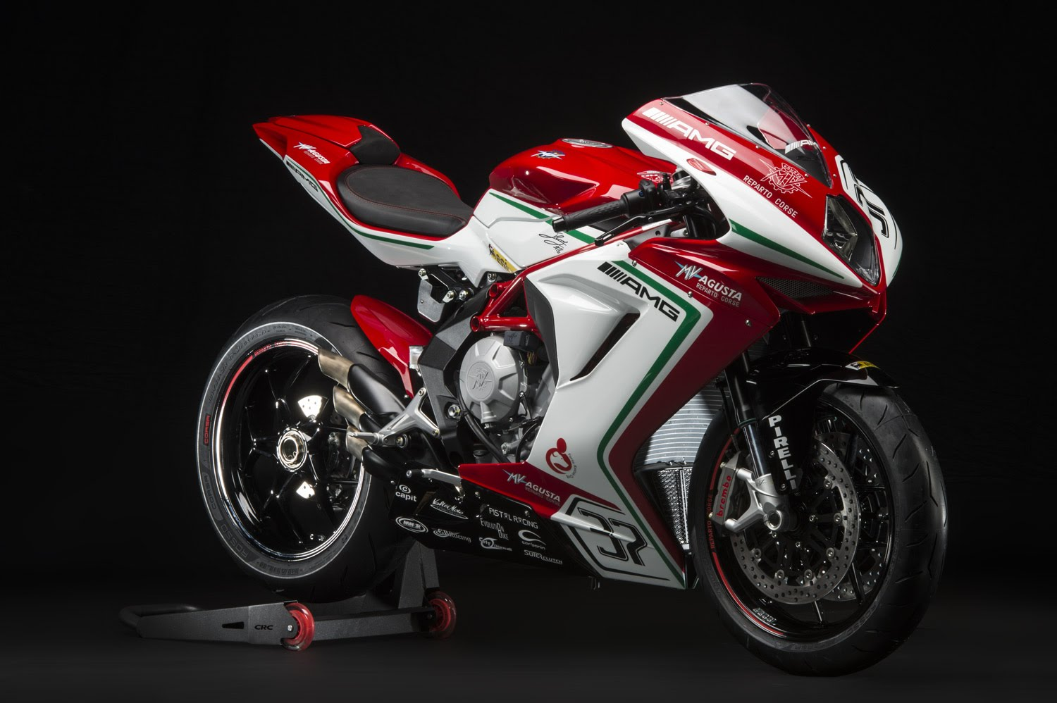 The company has offered a limited edition of MV Agusta F3 800 RC which was earlier released this year