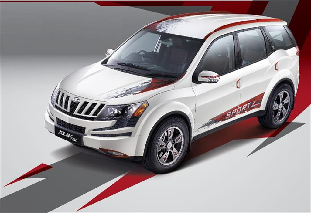 Mahindra Xuv500 Sportz Launched As Limited Edition
