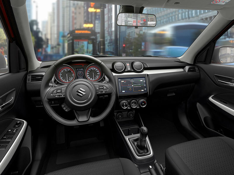 Maruti Suzuki Swift Interiors
