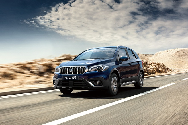 Maruti Suzuki to Launch S-Cross Facelift in India Around This Festive Season on the track