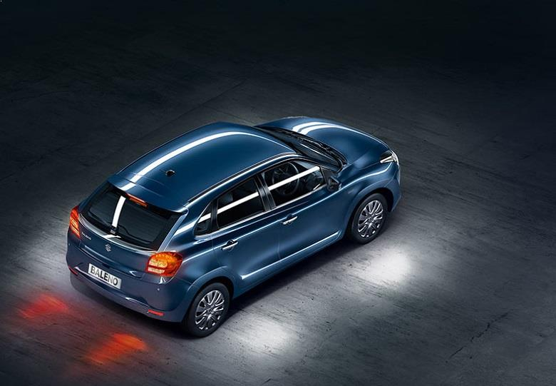 Maruti Baleno Top View