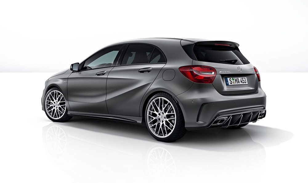 next gen mercedes amg a45 will feature 400 bhp expected launch in 2019. Black Bedroom Furniture Sets. Home Design Ideas