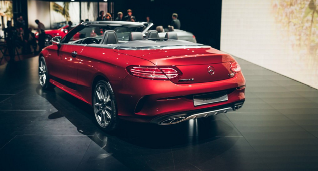Mercedes Benz reveals new convertible car to C Class sibling