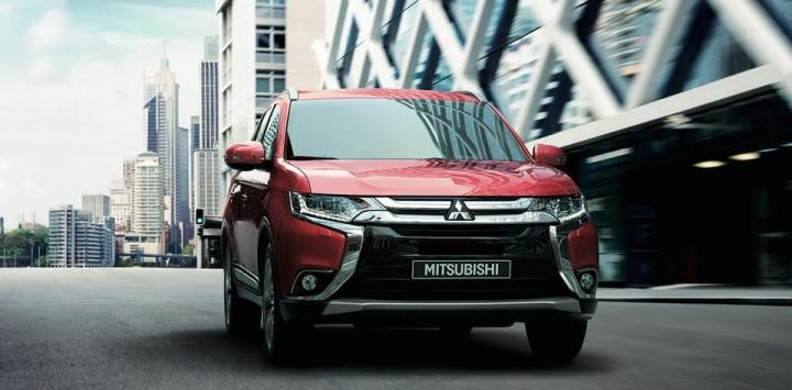 Mitsubishi to Launch 2017 Outlander in India Later This Year Front Fascia